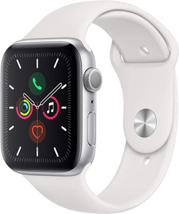 Brand New Apple Watch - Series 5 - Silver Aluminum Case with Sport Band (GPS) 44MM