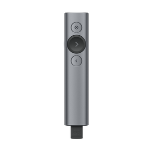 LOGITECH SPOTLIGHT™ PRESENTATION REMOTE - GREY - Custom Mac BD