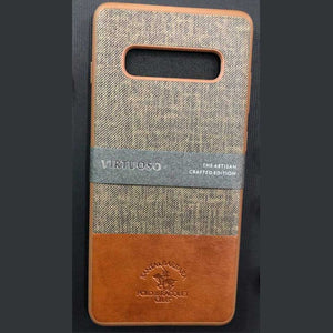 Santa Barbara Genuine Leather Case Virtuoso Series for iPhone Xs Max, iPhone 11 Pro, iPhone 11 Pro Max, Samsung S10 Plus