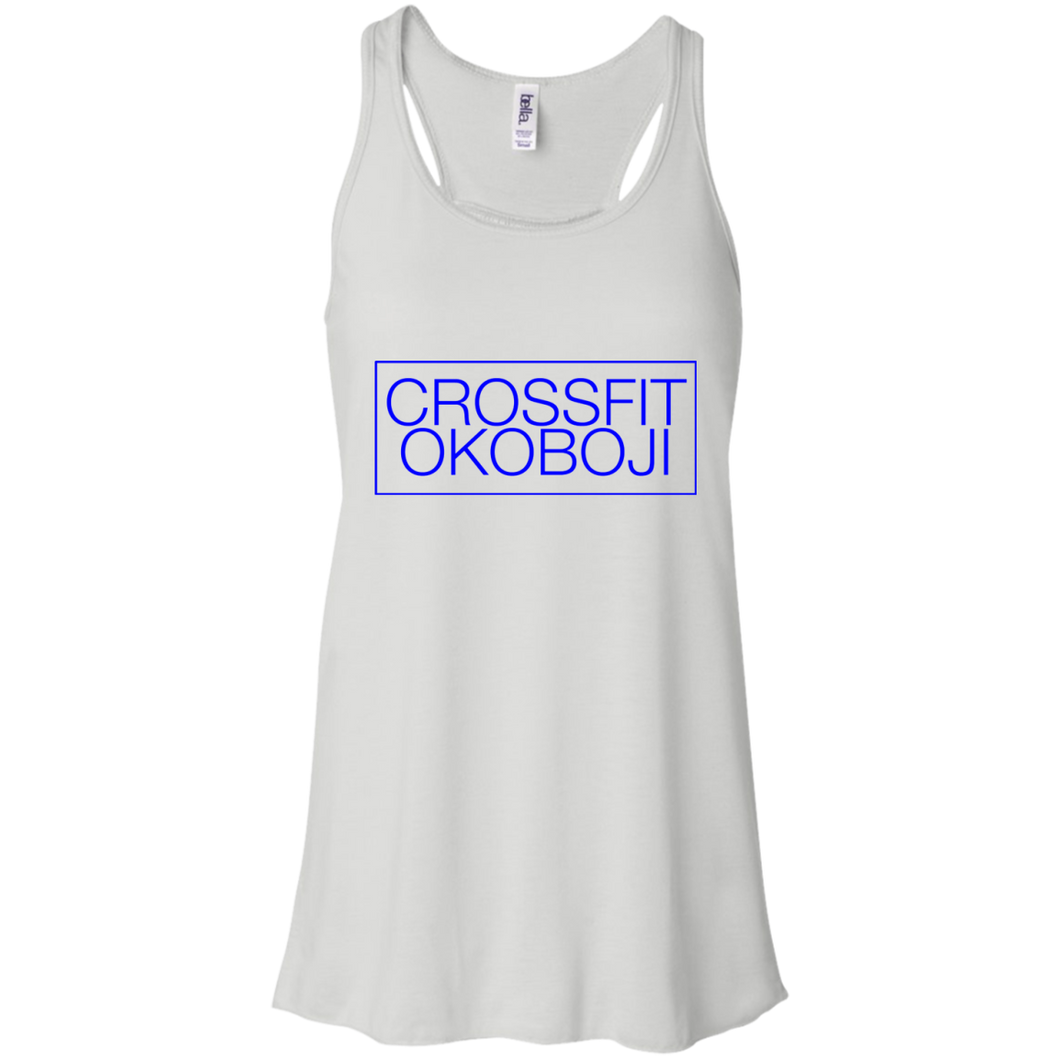 CrossFit Okoboji: Box Basic Racerback [ROYAL]