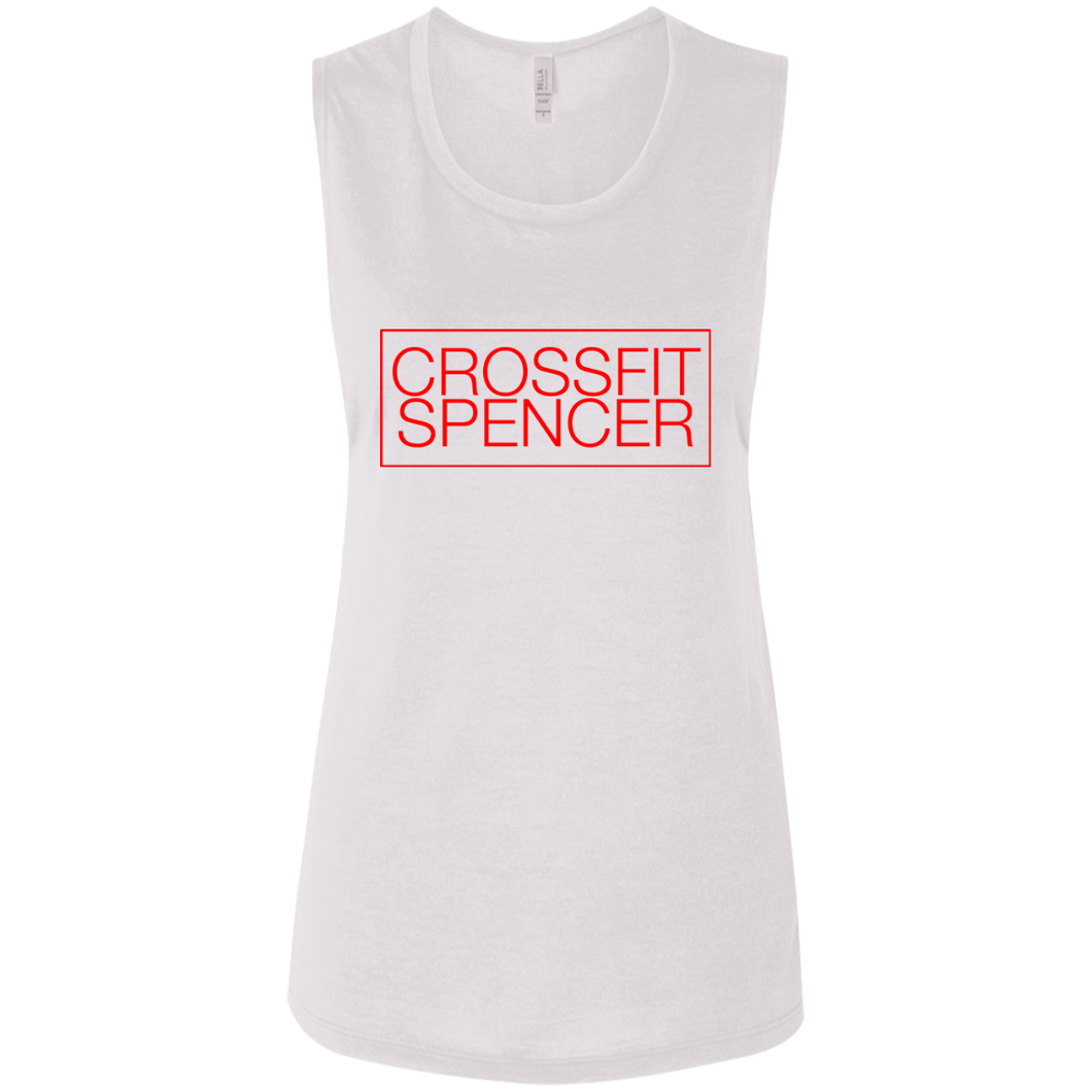 CrossFit Spencer: Box Basic [White/Red]