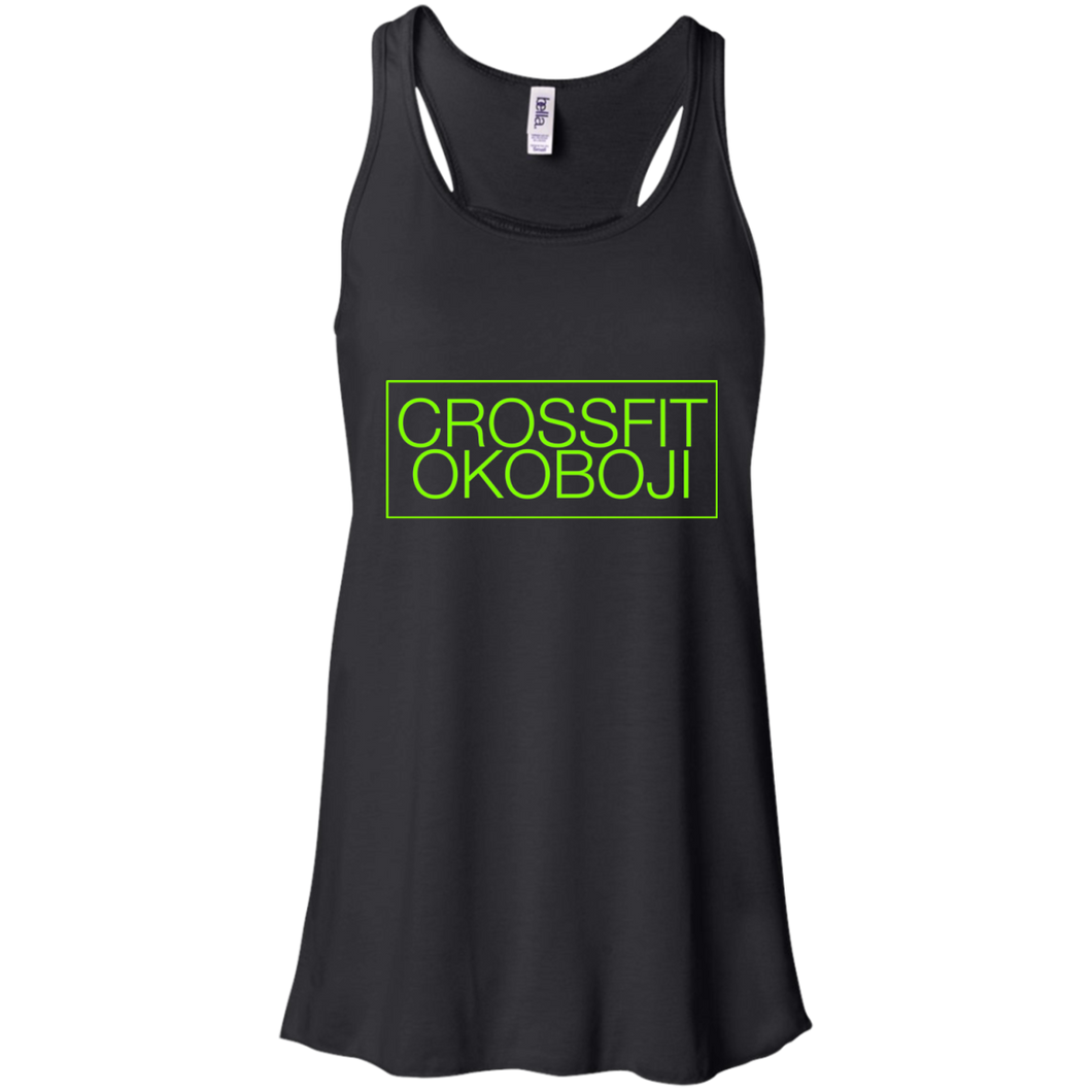 CrossFit Okoboji: Box Basic Racerback [LIME]