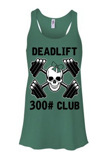 Deadlift Club 300# [black print]