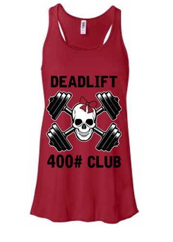 Deadlift Club 400# [black print]