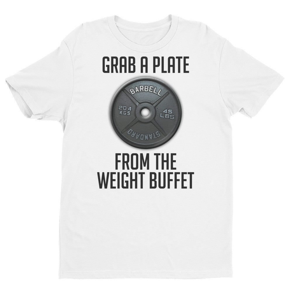 Grab A Plate From The Weight Buffet