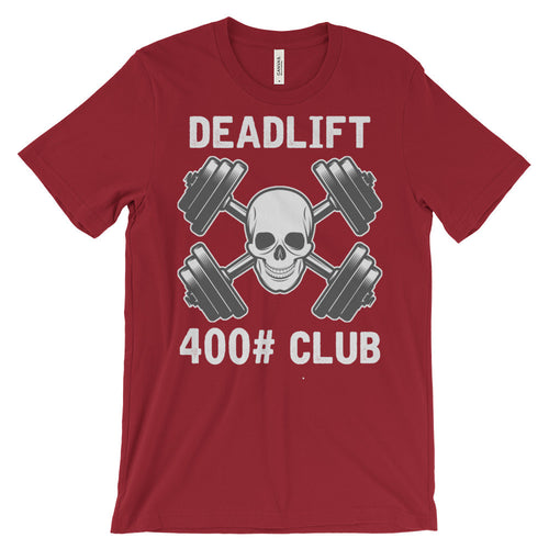 Deadlift Club 400# [white print]