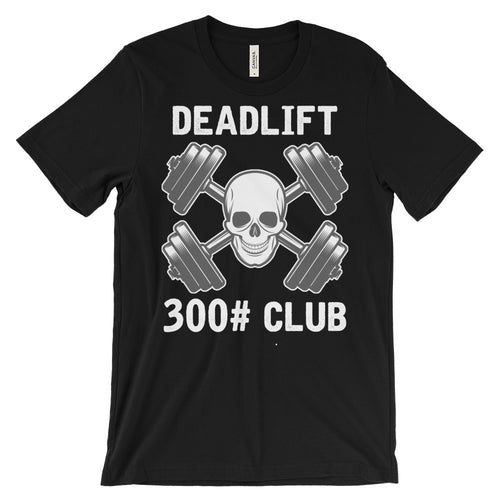 Deadlift Club 300# [white print]