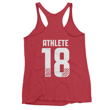 The Open 18 - Women's Racerback Tank [ATHLETE ON BACK]
