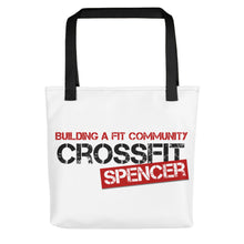 CrossFit Spencer Logo Tote bag