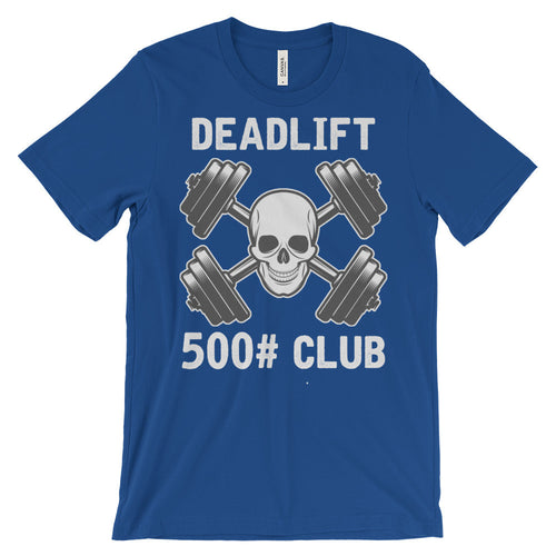 Deadlift Club 500# [white print]