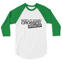 CrossFit Spencer 3/4 Sleeve Baseball Shirt