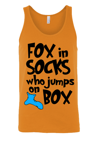 Fox In Socks Who Jumps on Box