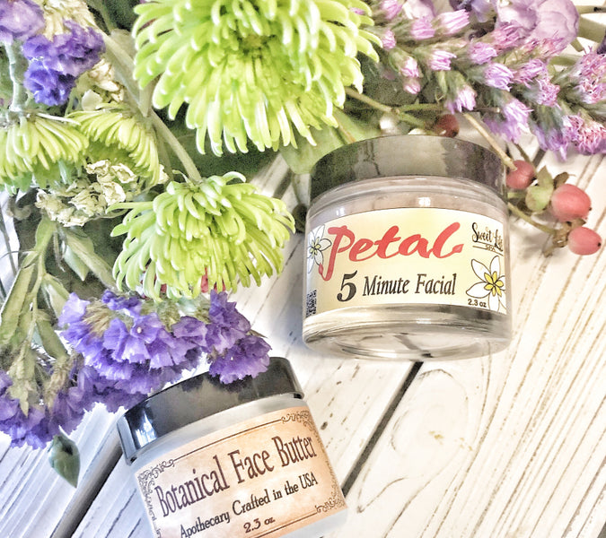 Botanical Face Butter | Petal 5 Minute Facial Reviews