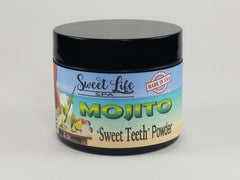"Sugar-free Organic Flavored Mojito ""Sweet Teeth"" Powder Swet Life Spa's Natural Clay Tooth Powder"