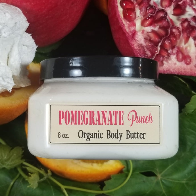 Pomegranate Punch Organic Body Butter | Sweet Life Spa