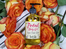 Petal Body Oil | 8 Ounce Glass Bottle | Sweet Life Spa
