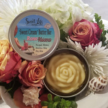 "Organic Rose Hibiscus ""Sweet Cream"" Butter Bar 