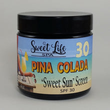 "Organic ""Sweet Sun"" Screen SPF 30 