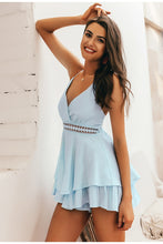 Sky Blue Summer Romper
