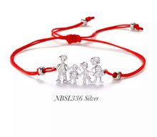 Family Charm Adjustable Bracelet