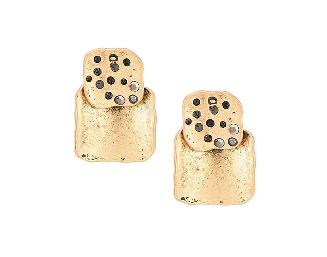 Tabitha Vintage Stud Earrings