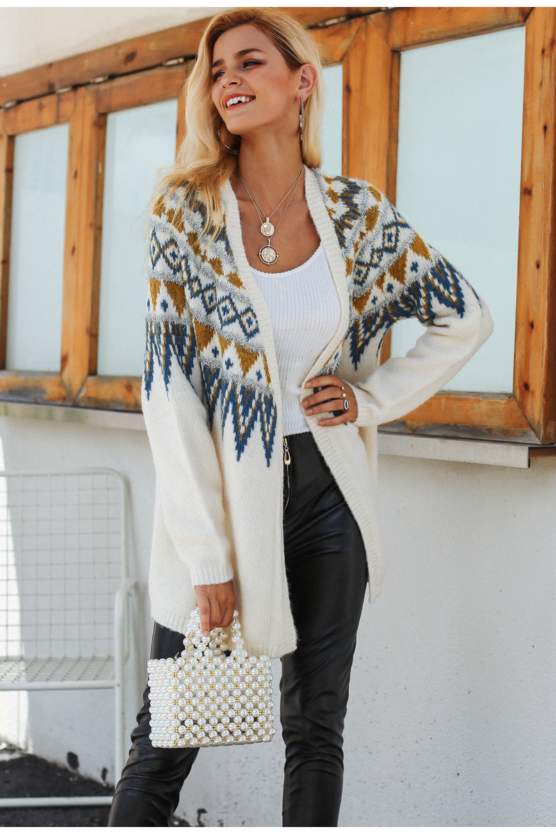Sofia Knitted Long Cardigan