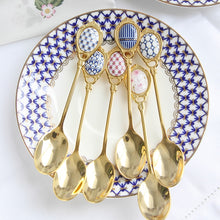 Azul 4 Piece Spoon Set