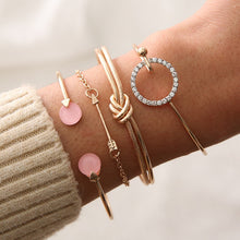 romantic notes bracelet set