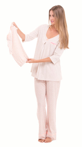 Anne Polka Dots Pajama Set