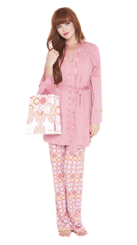 Z Anne Geometric Pajama Set