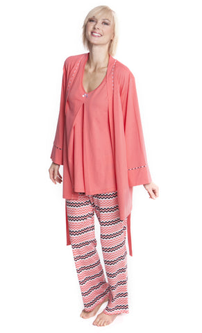 Z Anne Zig Zag Pajama Set with Gift Box
