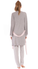 Anne Striped Pajama Set
