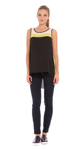 Mia Color Block Tank Top