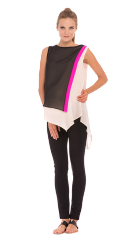 Mia Asymmetrical Top