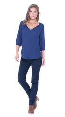 Juliette long sleeves top