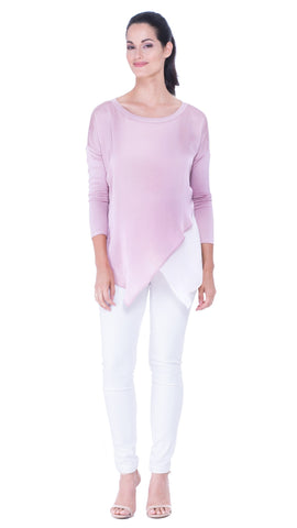 Leah boat neck Top