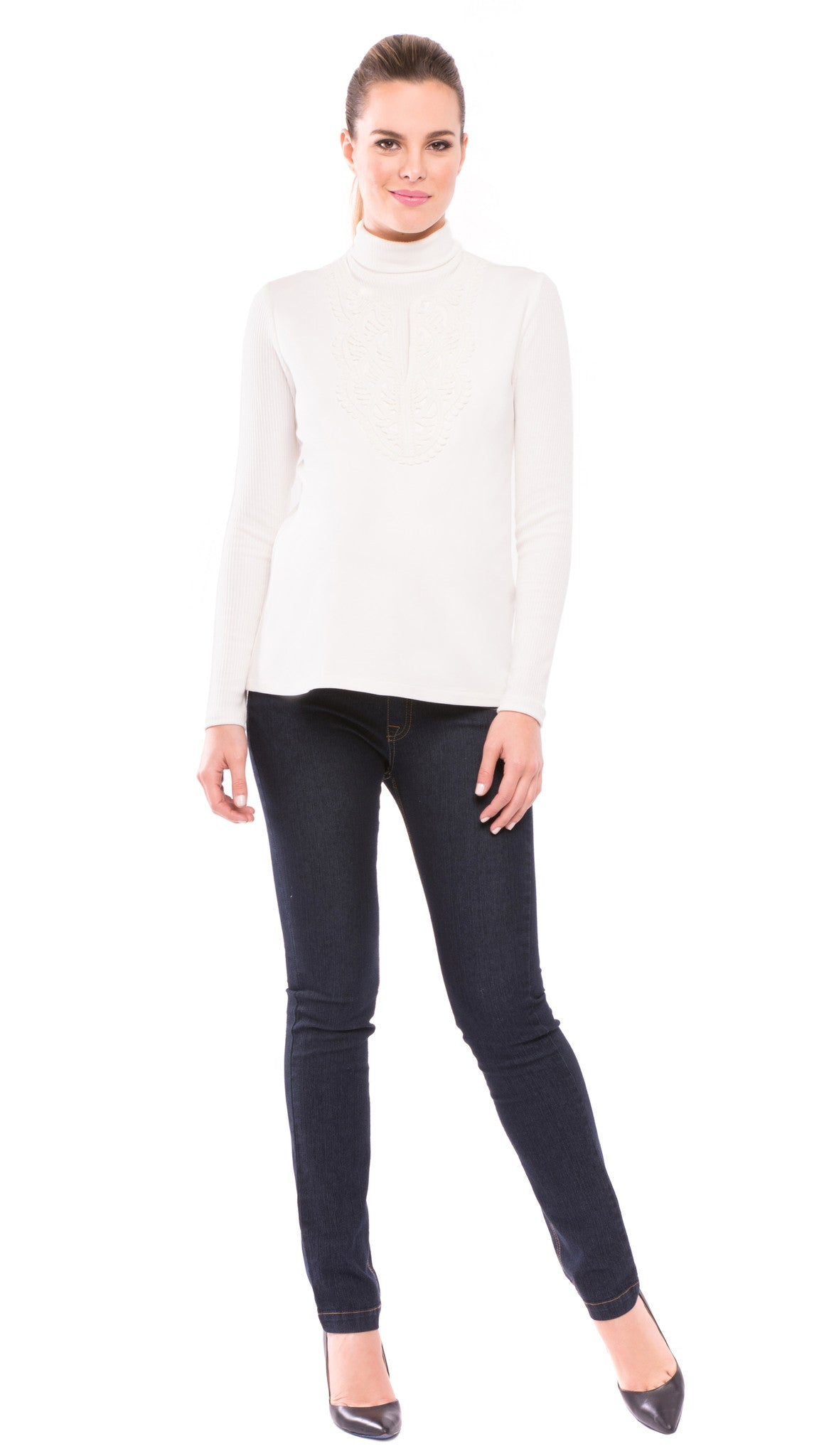 Caroline Faux Double Layered Top