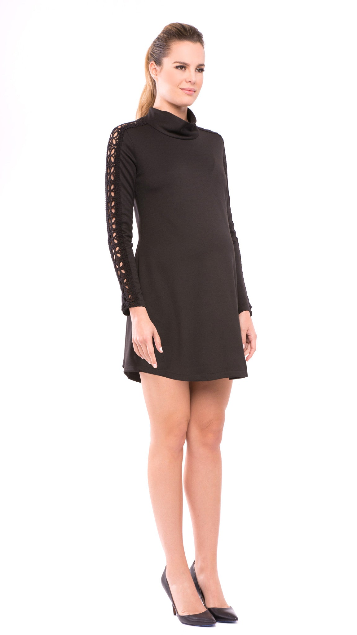 Caroline TurtleNeck Dress