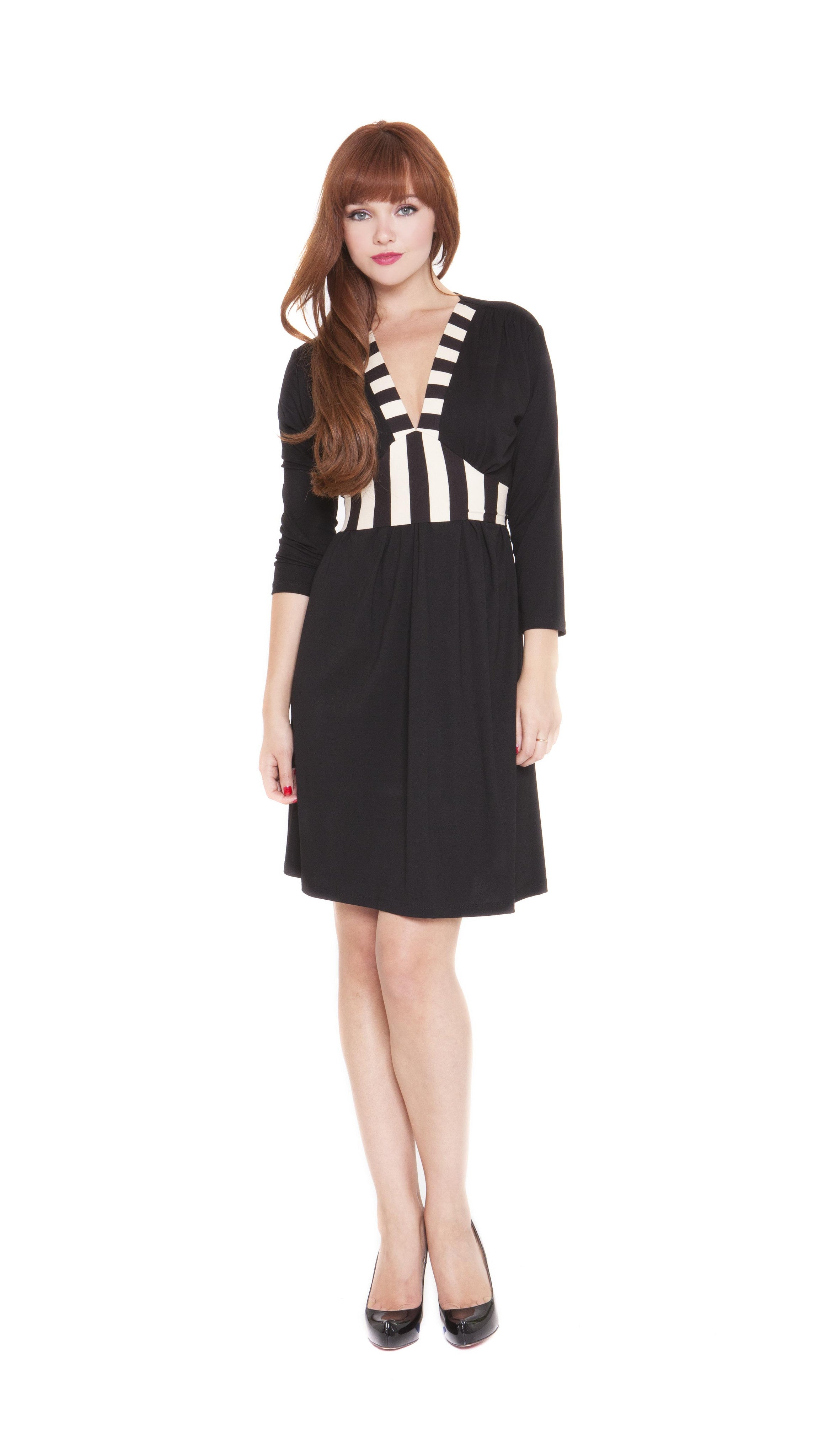 Z Lucy Striped Nursing Dress