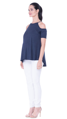 Lucy Cold-Shoulder Top