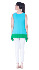 Margarette Two-Tone Top