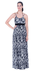 Alma strappy maxi dress
