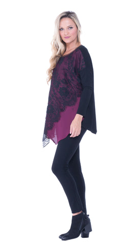 Bernadine over layer top