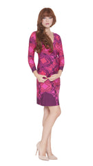 Z Suzy Faux Wrap Dress