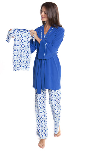 Anne Geometric Pajama Set