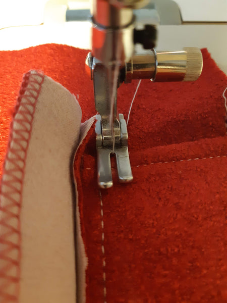 sewing pocket flap