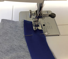 machine stitching bias tape