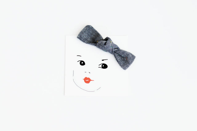Perfect Chambray Bow