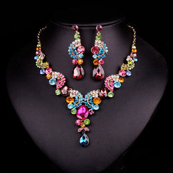 Dubai Rhinestone Jewelry Set