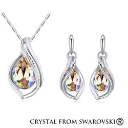 Water Drop Swarovski Jewelry Sets